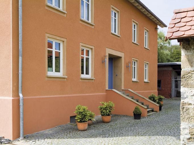 Fassadenfarbe beispiele gestaltung  Knauf - Knauf Farbwelt