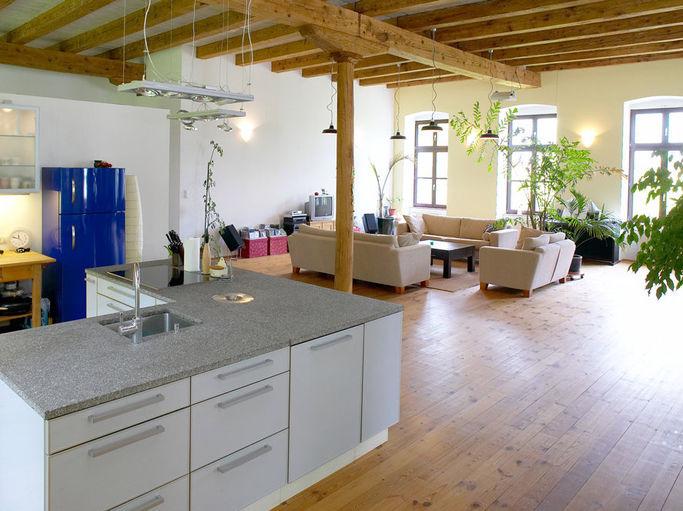 strukturputz innen beispiele wandputz innen muster. Black Bedroom Furniture Sets. Home Design Ideas