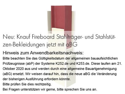 knauf fireboard st tzen und tr gerbekleidungen. Black Bedroom Furniture Sets. Home Design Ideas
