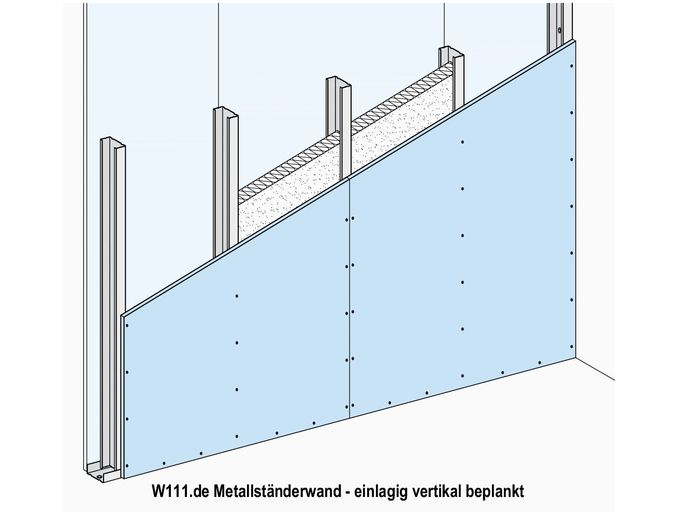 Knauf Metallstanderwande W11 Ch