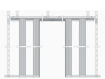 Schiebetür in trockenbauwand detail  Knauf - Schiebetür-Systeme