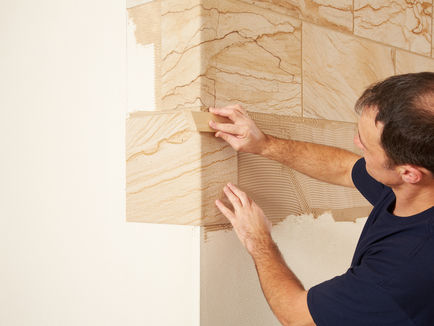 Knauf Sandstein Design Wandplatte