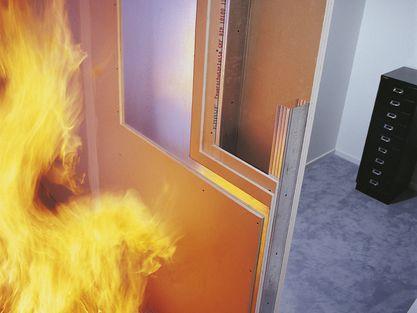 knauf brandschutz im trockenbau mit knauf. Black Bedroom Furniture Sets. Home Design Ideas