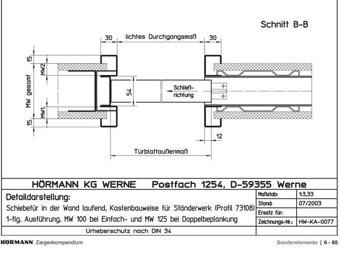 Holzbau detail wand  Knauf - Türen und Zargen