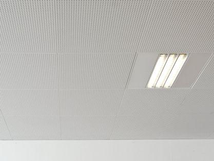 Knauf plaques for Faux plafond acoustique
