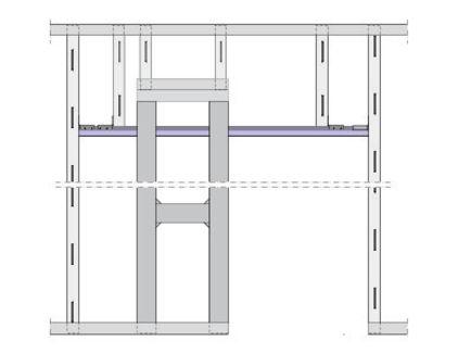 Schiebetür in trockenbauwand detail  Knauf - Schiebetür-System Pocket