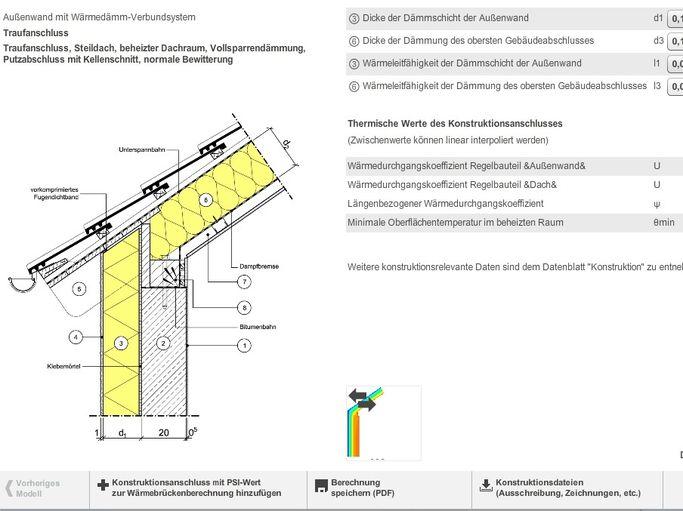 Knauf - Berechnen Sie Wärmebrücken in Traufen, Ortgang, Laibung und ...