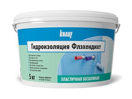 Knauf гидроизоляция флэхендихт цена гидроизоляция в рулонах