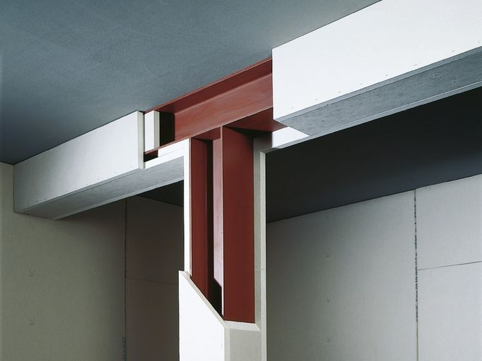 knauf fireboard st tzen und tr gerbekleidungen. Black Bedroom Furniture Sets. Home Design Ideas
