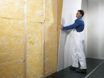 Knauf pareti con struttura in legno for Legno da rivestimento pareti