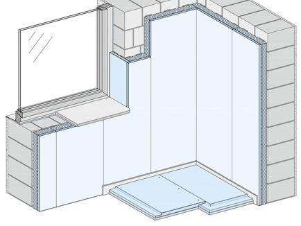knauf trockenputz und vorsatzschalen. Black Bedroom Furniture Sets. Home Design Ideas