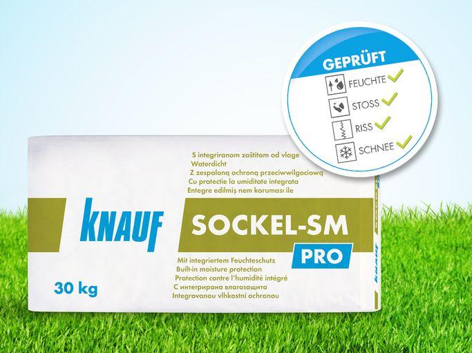 Knauf Sockel Sm Pro Der Universelle Sockelputz Mit Feuchtesperre